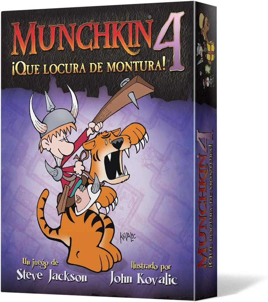Edge Entertainment - Munchkin 4: Qué locura de montura, juego de ...