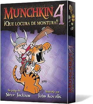 Edge Entertainment - Munchkin 4: Qué locura de montura, juego de mesa: Edge: Amazon.es: Juguetes y juegos