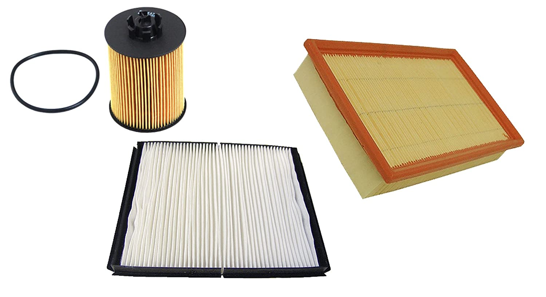 MAPCO 68720 Filtersatz - Ã – lfilter/Luftfilter/Pollenfilter