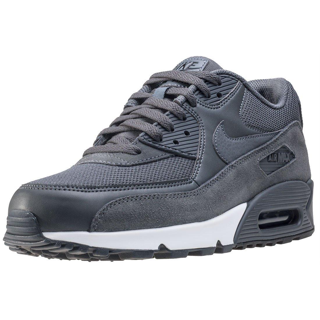MultiCouleure (Dark gris Dark gris noir blanc 078) 49.5 EU Nike Air Max 90 Essential, Chaussures de FonctionneHommest EntraineHommest Homme