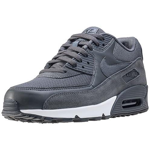 af01214b5 Nike Air Max 90 Essential, Scarpe da Fitness Uomo, Multicolore Dark  Grey/Black/White 078, 48.5 EU: Amazon.it: Scarpe e borse
