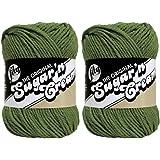 Sugar'N Cream Yarn - Solids-Sage Green