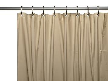 Royal Bath Extra Long 5 Gauge Vinyl Shower Curtain Liner, Size 72u0026quot;  Wide X