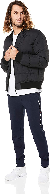 Blue Tommy Hilfiger Mens Logo Joggers