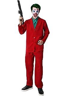 Gojoy shop-Disfraz y Pistola de Joker Payaso Asesino para Hombres ...