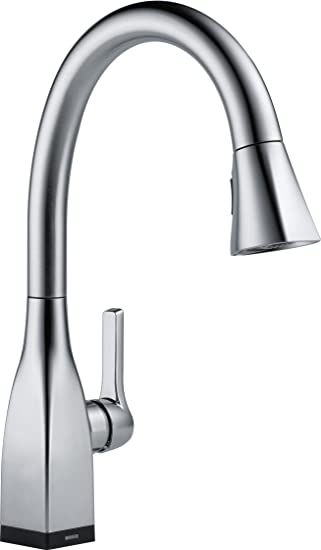 Delta Faucet 9183T AR DST Mateo Single Handle Pull Down Kitchen Faucet With