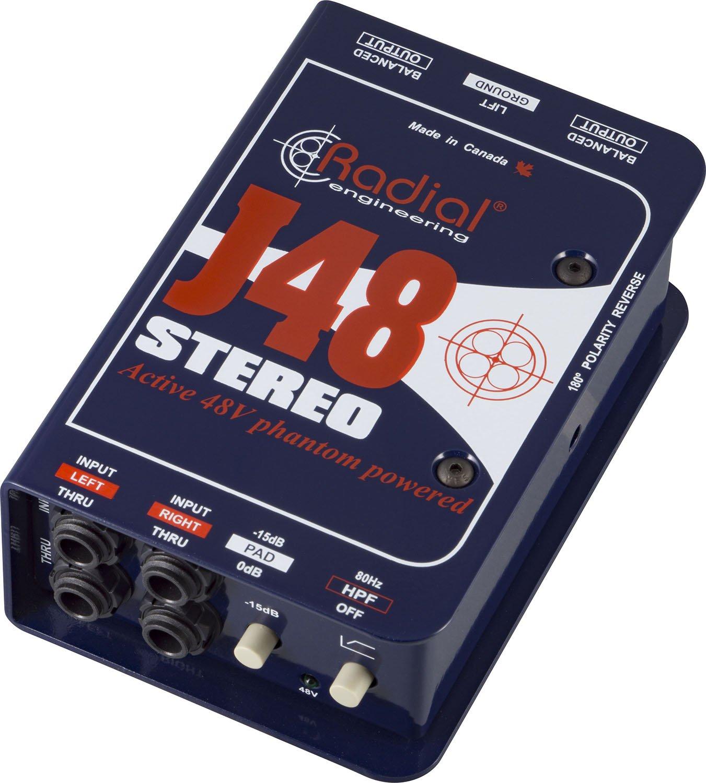 Radial ラジアル ステレオDIボックス J48 Stereo 【国内正規輸入品】   B014QUOKX2
