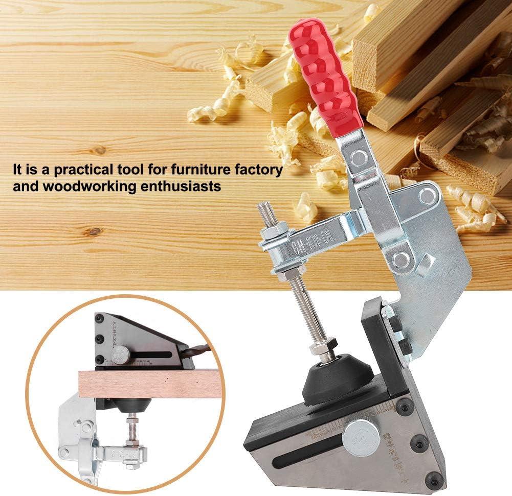 1 Drill Bit Localizador de orificios de bolsillo Agujero inclinado localizador con 2 puntas Broca paso para carpintero Carpinter/ía Herramienta de hardware