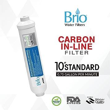 Post Inline Carbon Gac Wasserfilter Umkehrosmose Ro Ice T 33
