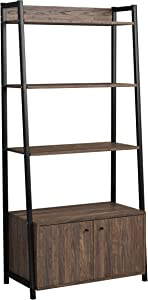 Coaster Home Furnishings Jacksonville Bookcase with 2-Door Cabinet Aged Walnut Standard, Brown