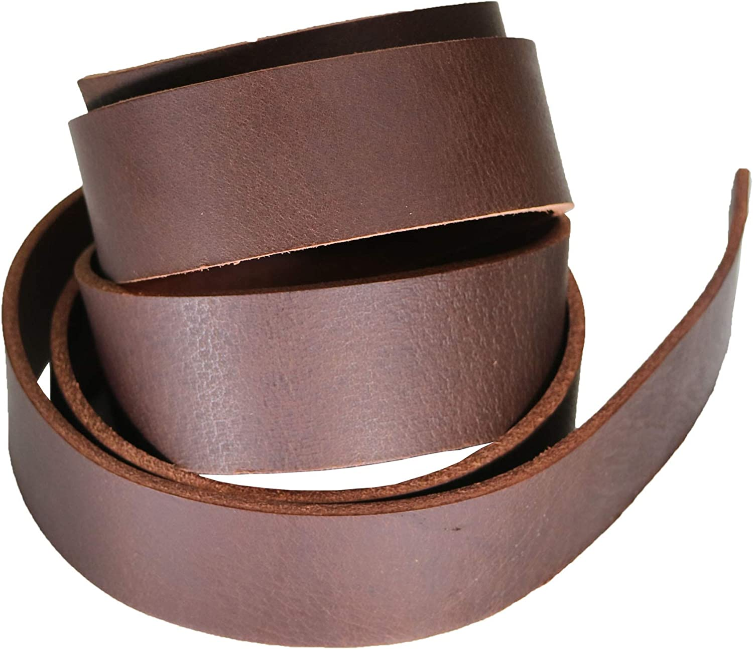 "Leather Belt Blank Strip Brown West Tan Leather Strip for Belts Buffalo Leather Strap 55/"" to 60/"" in Length 2/"" Wide Heavy Weight Thick 8oz 10oz"