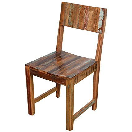 Delicieux Svitlife Wanderloot Brooklyn Reclaimed Wood Dining Chair Dining Chairs Set  Century Solid Room