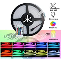 Luz de cuerda YXH Neon Led RGB, flexible/impermeable/multicolor/control