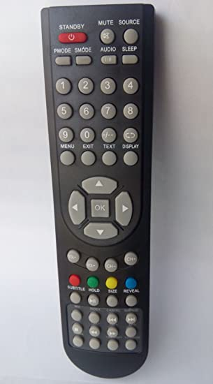 Control remoto para Gericom, Quadro, Fox, Schneider TV LCD + DVD Combo l2308u: Amazon.es: Electrónica