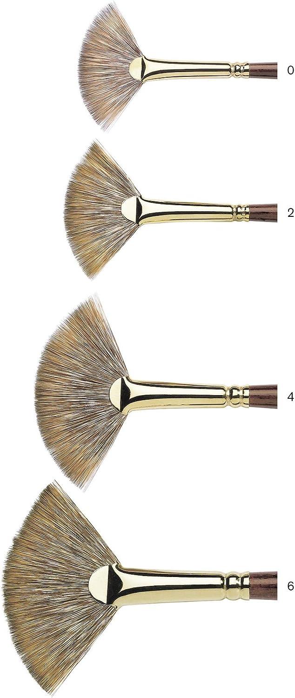 Winsor /& Newton Monarch Short Filbert Long Handle Brush Size 6