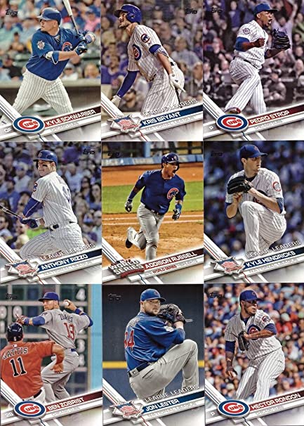 2017 Topps #277 Kris Bryant Baseball Card League Leaders