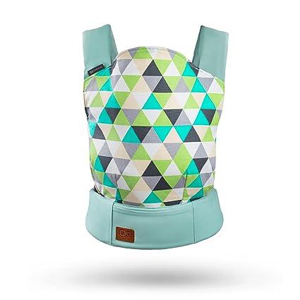 Kinderkraft Nino portabebés ergonómico 3 meses - 20 kg verde: Amazon ...