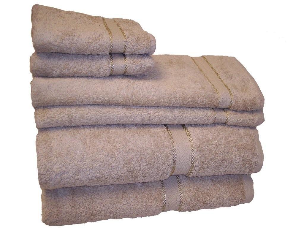 Revere Mills Prestige Towel Set, 6 - Piece, Driftwood