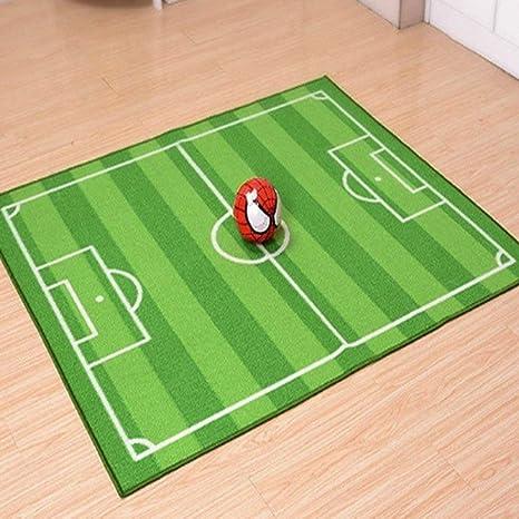 Actividad y entretenimiento Kongqiabona bebé de fútbol para niños Field Play Mat Football Alfombra de tamaño pequeño Grande Soft Football Carpet tamaño: 1000x1300MM Bebé