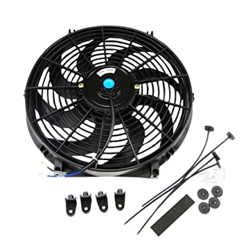 14 in electric fan wiring diagrams schematics slim fan push pull electric radiator 14 inch universal slim fan push pull electric radiator cooling mount kit 12 volt at electric fan wiring diagram cheapraybanclubmaster Images