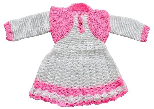 1268847da4fe Apna Showroom Baby Girl s Wool Winter Wear Sweater Skirt Frock