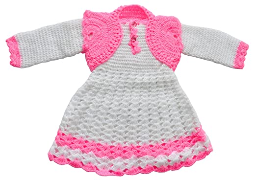 d96130bf8c9c Apna Showroom Baby Girl s Wool Winter Wear Sweater Skirt Frock