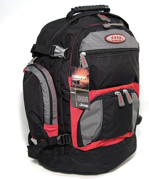 JEEP Nebraska Backpack Rucksack Laptop Bag PH907 (red)