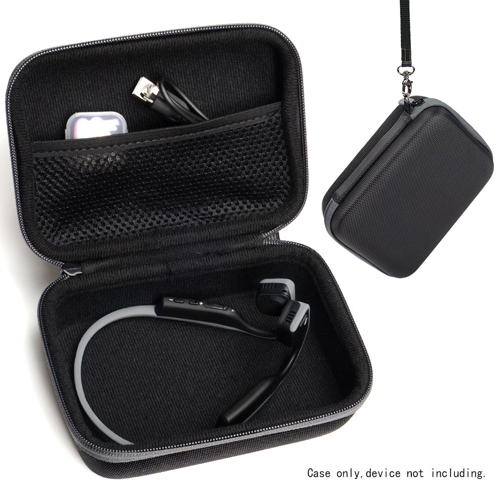 0bb59c3910b CaseSack Bone Conduction Headphones Case for Aftershokz AS600 Trekz  SG/OB/IG/SG