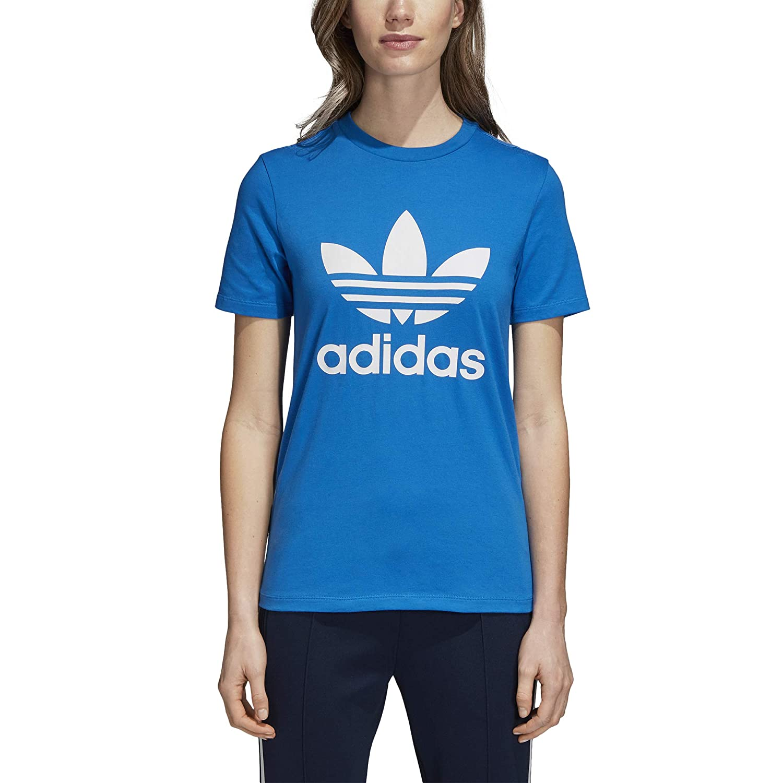 t-shirt adidas donna azzurra