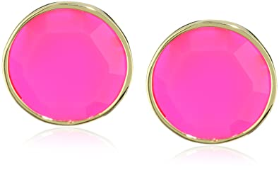 Amazon Com Kate Spade New York Baublebox Pink Clip Earrings Clip