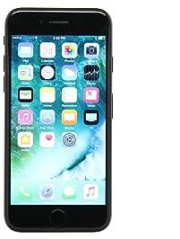 Apple iPhone 7, 128GB, Black - Fully Unlocked (Renewed)
