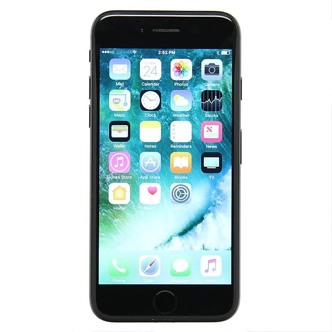 Apple iPhone 7, GSM Unlocked, 128GB - Black (Renewed)