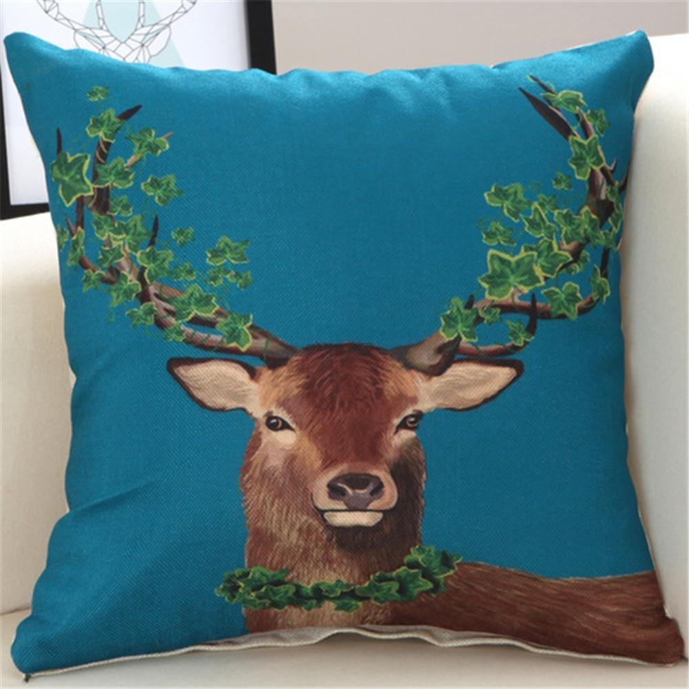 Simple cushion pillowcase nap Pillow car Office Sofa Pillow Cushion by MiZuJ (Image #1)
