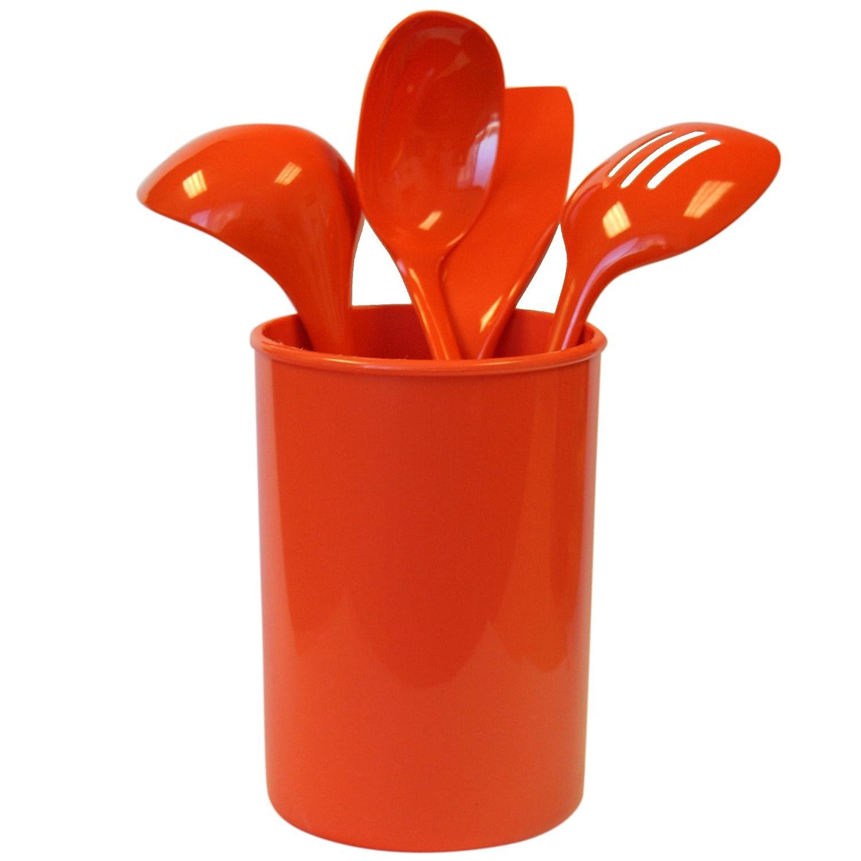 amazon com reston lloyd 82960 5 piece calypso basics utensil
