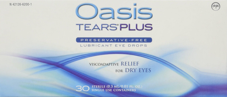 Oasis tears plus reviews