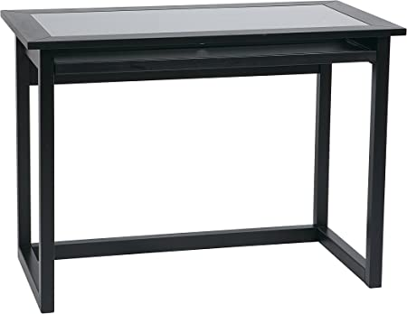 Amazon Com Office Star Meridian 42 Inch Wide Computer Desk With