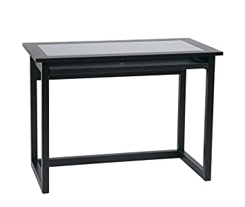 Office Star Meridian 42-Inch Wide Computer Desk with Pullout Keyboard Tray  with Storage Space