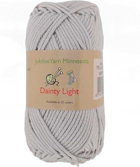 100g ball D Y Choice Cotton Aran yarn Shade #02// White