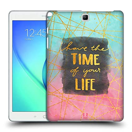 Amazoncom Head Case Designs Time Gold Quotes Hard Back Case For