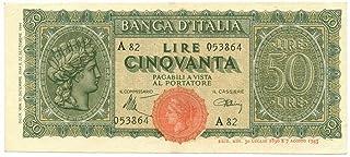 Cartamoneta.com 50 Lire Italia TURRITA 10/12/1944 SPL