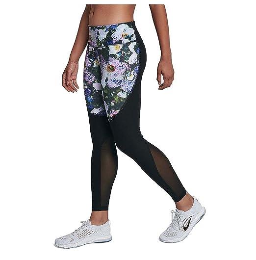 cc798dbc6cab1 Nike Women's Power Legend Printed Mesh-Inset Leggings