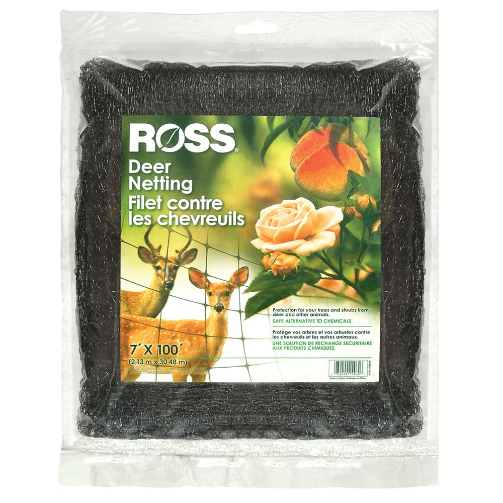 Ross Deer Netting and Fencing Reusable (Protection For Trees and Shrubs From Animals) 7 feet x 100 feet by Ross