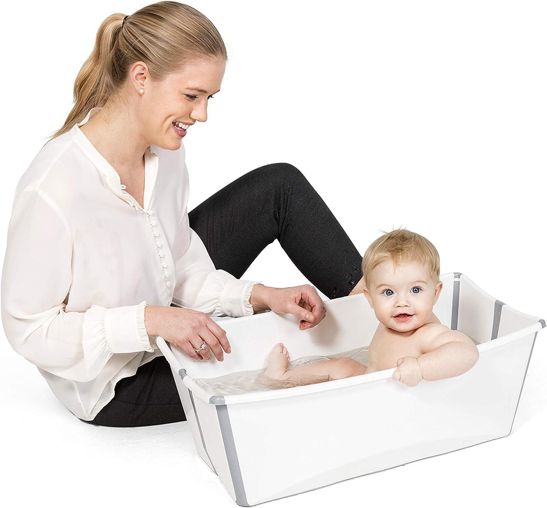 Couleur Baignoire Pour Bebes Et Enfants Legere Et Pliante Bleu Transparent Stokke Flexi Bath Baignoires Et Sieges De Bain Toilette De Bebe