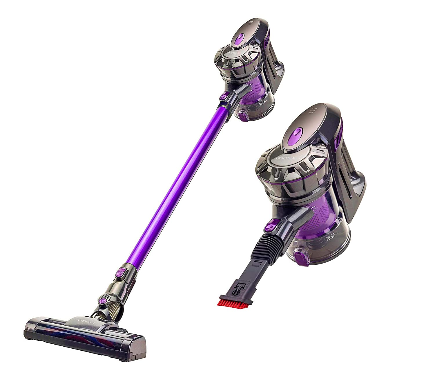 cordless vacuum cleaner compact upright handheld stick lithium battery operated 660902180943 ebay. Black Bedroom Furniture Sets. Home Design Ideas