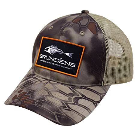 16951dd13dc Grundens Kryptek Trucker Hat - Kryptek Highlander Camo - One Size fits All