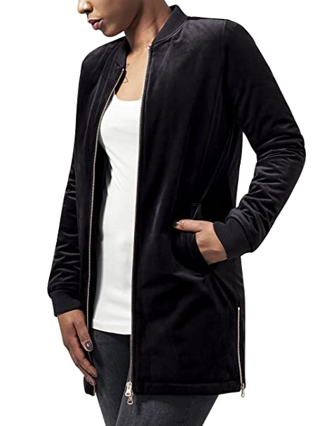 Urban Classics Ladies Long Velvet Jacket, Chaqueta Para ...