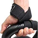 Lifting Straps - Weightlifting Hand Bar Wrist Support Hook Wraps by Anvil Fitness, Pair(2), Wrist Supports Assist Grip Strength Weight Lifting Straps for Bodybuilding, Power Lifting