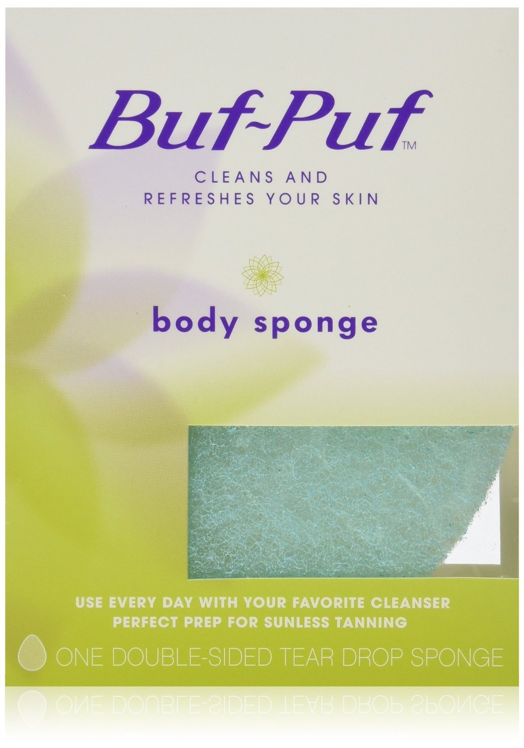 Buf-Puf Double-Sided Body Sponge, 6 Count Everready First Aid s-11592