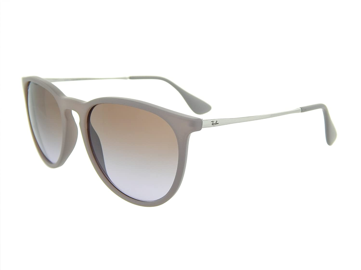 New Ray Ban Erika RB4171 600068 Brown/Silver/Brown Gradient ...