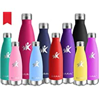 KollyKolla Botella de Agua Acero Inoxidable - 350ml/500ml/650ml/750ml